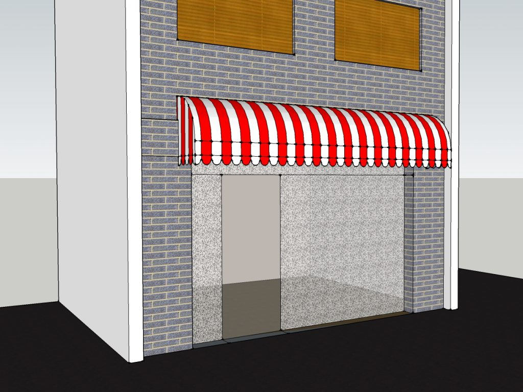 店舗テント 施工例-2